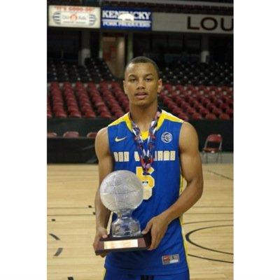Justin Robinson Boo Williams trophy