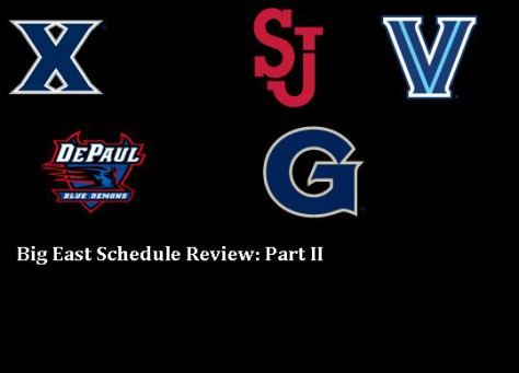 Big East Schedule Review Part 2