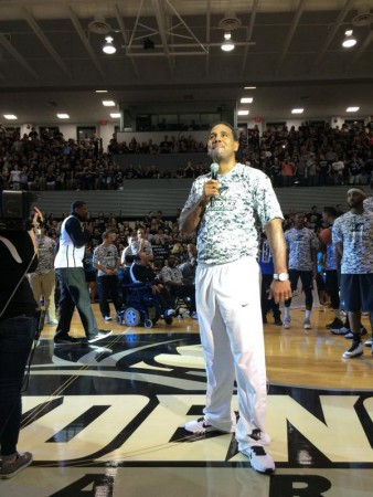 Late Night Madness Ed Cooley Camo
