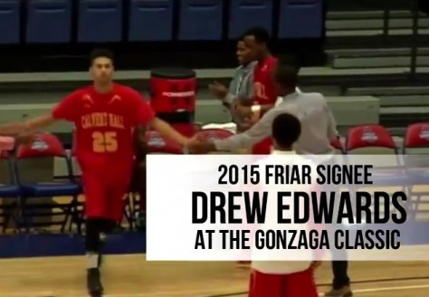 New Highlight Video: 2015 Providence Commit Drew Edwards