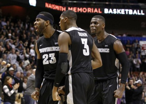 LaDontae Henton, Kris Dunn Honorable Mention All-Americans