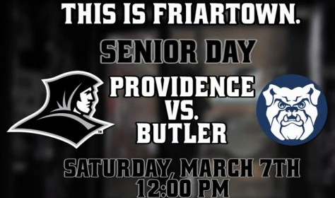 Providence vs. Butler Senior Day Promo – Show Up Early!