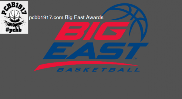 The Official pcbb1917.com 2017 Big East Postseason Awards